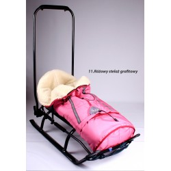 SALTO SLEDS WITH WOOLEN SLEEPING BAG