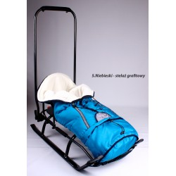 SALTO SLEDS WITH FLEECE SLEEPING BAG